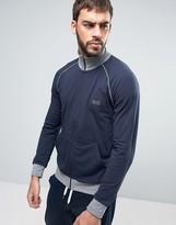 HUGO BOSS BOSS By Zip Through Sweat Top With Logo