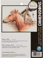 Dimensions Needlecrafts Counted Cross Stitch, Horse Pals