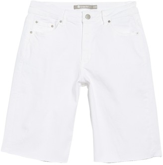 Tractr High Rise Relaxed Bermuda Shorts
