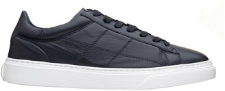 Hogan H365 Blue Leather Sneakers