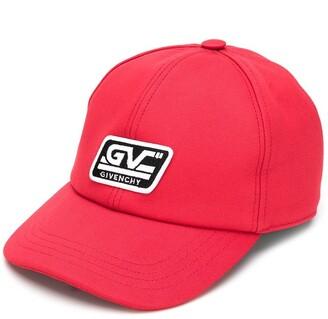 Givenchy Kids logo patch baseball cap