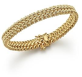 Bloomingdale's 14K Yellow Gold Crisscross Bracelet - 100% Exclusive