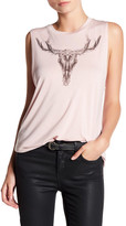 Haute Hippie Long Horn Muscle Tank