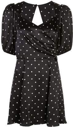 Reformation Lane polka-dot dress