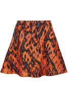 Topshop Aztec Boucle Full Skirt