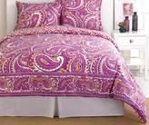 Trina Turk 2-Piece Paisley Comforter Set, Twin, Pink
