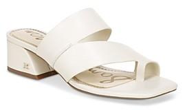 Sam Edelman Women's Prague Slip On Block Heel Sandals