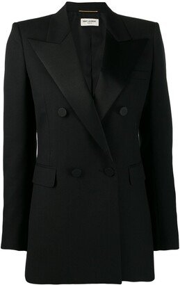 Saint Laurent Tailored Tuxedo Blazer
