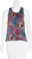 Marc Jacobs Paisley Print Silk Dress