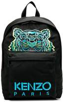 Kenzo Tiger and logo backpack