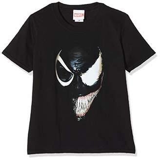 Marvel Girl's Universe Venom Split Face Sweatshirt,(Size:7-8Y)