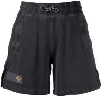 Mr & Mrs Italy Embroidered Lgoo Shorts