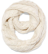 New York & Co. Lurex Cable-Knit Infinity Scarf