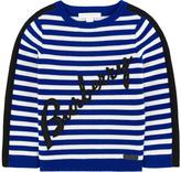 Burberry Striped wool blend sweater