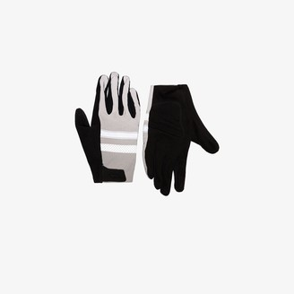 Rapha black and grey Brevet reflective jersey cycling gloves
