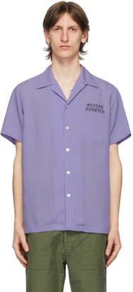 Wacko Maria Purple 50s Short Sleeve Shirt