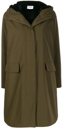 Aspesi Shearling Lined Parka Coat