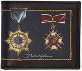 Dolce & Gabbana Black Medal Wallet