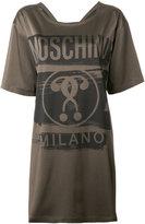 Moschino question mark T-shirt dress - women - Acetate/Viscose/other fibers - 38