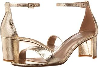 Pelle Moda Monroe (Silver Foil Snakeskin) Women's Shoes