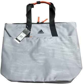 adidas Grey Polyester Travel bags