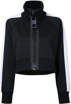 Miharayasuhiro ragran short track jacket - women - Polyester - 38