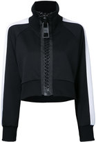 Miharayasuhiro ragran short track jacket - women - Polyester - 40