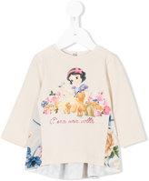 MonnaLisa Snow White print sweatshirt