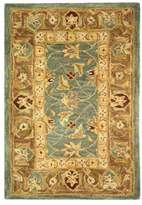 Safavieh Anatolia Collection AN549 Rug, Teal Blue/Taupe, 2'x3'