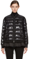 Moncler Black Down Twist Lucy Jacket