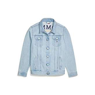 Tommy Hilfiger Women's Adaptive Denim Jacket with Magnetic Buttons