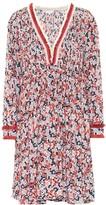 Poupette St Barth Exclusive to Mytheresa Ola floral crepe de chine dress