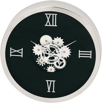 Uma Enterprises Uma Geared Stainless Steel Wall Clock