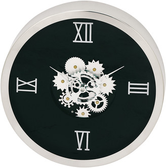 Uma Enterprises Uma Geared Stainless Steel Wall Clock
