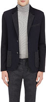 Lanvin Men's Deconstructed Two-Button Sportcoat-NAVY, GREY, NO COLOR