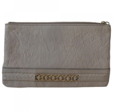 Givenchy Beige Leather Clutch bag