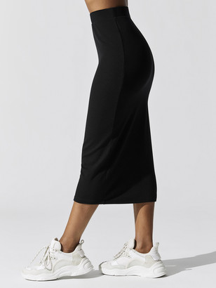 Carbon38 The Ribbed Midi Skirt