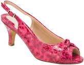 Ros Hommerson Pink & Fuchsia Lindsay Leather Slingback