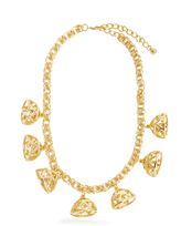 Emilia Wickstead Frankie gold-plated necklace
