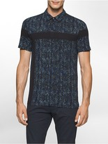 Calvin Klein One Slim Fit Abstract Dot Polo Shirt