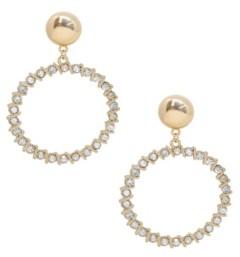 Ettika Cyclical Crystal Drop Earrings