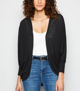 New Look Ribbed Batwing Sleeve Cardigan