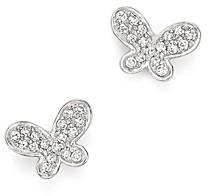Bloomingdale's Kc Designs Diamond Butterfly Stud Earrings in 14K White Gold