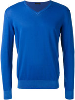 Z Zegna V-neck jumper - men - Cotton - S