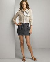 Dolce & Gabbana Denim Bubble Skirt