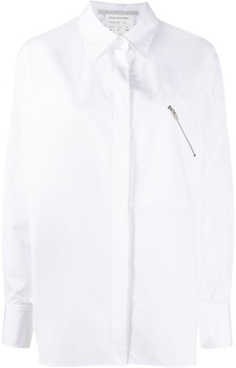 Stella McCartney Zip Pocket Cotton Shirt