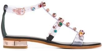 Sophia Webster Embellished Jelly Sandals