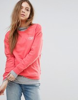 Vans Classic Sweatshirt In Peach