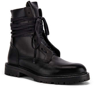 Amiri Combat Boot in Black | FWRD