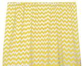 Zen Creative Designs Premium Cotton Chevron Curtain Panel / Home Window Decor / Window Treatments / Chevron / Zig Zag / Waves (58 Inch x 84 Inch, Yellow)